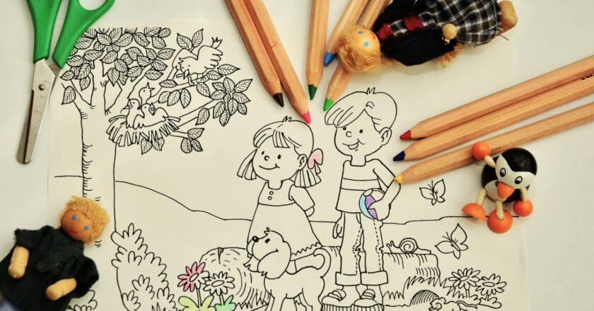 De ce este important pentru copii sa coloreze?